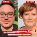 Jana Seppelt und Jan Richter